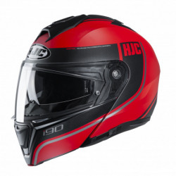 HJC I90 DAVAN HELMET BLACK/RED