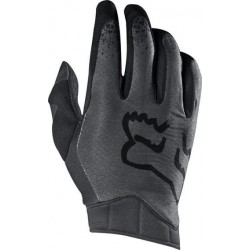 FOX AIRLINE MOTH GLOVES BLACK/GREY
