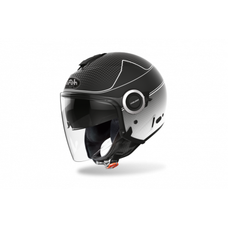 AIROH HELIOS MAP WHITE MATT HELMET