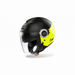 KASK AIROH HELIOS FLUO YELLOW GLOSS