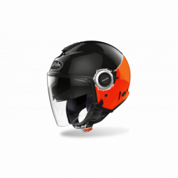 KASK AIROH HELIOS FLUO ORANGE GLOSS