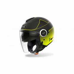 KASK AIROH HELIOS MAP YELLOW MATT