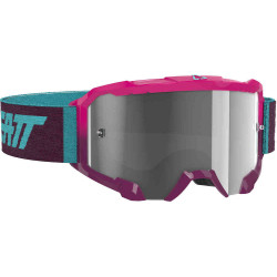 LEATT VELOCITY 4.5 GOGGLE NEON PINK CLEAR