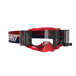 LEATT VELOCITY 5.5 ROLL-OFF GOGGLE RED CLEAR