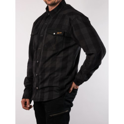 BROGER ALASKA BLACK/GREY MOTORCYCLE SHIRT