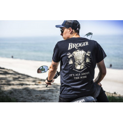 T-SHIRT BROGER ALASKA DARK BLUE