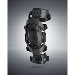 ASTERISK CELL YOUTH KNEE BRACE PAIR BLACK
