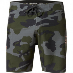 BOARDSHORT FOX OVERHEAD CAMO STRETCH FHE 18 GREEN CAMO 33