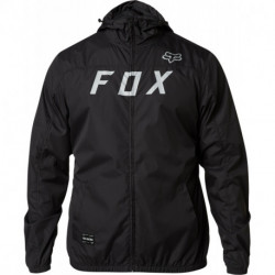 KURTKA FOX MOTH WINDBREAKER BLACK/GREY