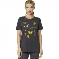 T-SHIRT FOX LADY MONARCH BLACK VINTAGE