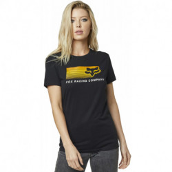 T-SHIRT FOX LADY DRIFTER BLACK