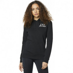 BLUZA FOX LADY Z KAPTUREM LAPPED BLACK