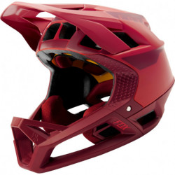KASK ROWEROWY FOX PROFRAME QUO BRIGHT RED