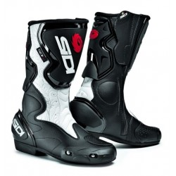 SIDI FUSION LEI WOMAN BLACK/WHITE BOOTS