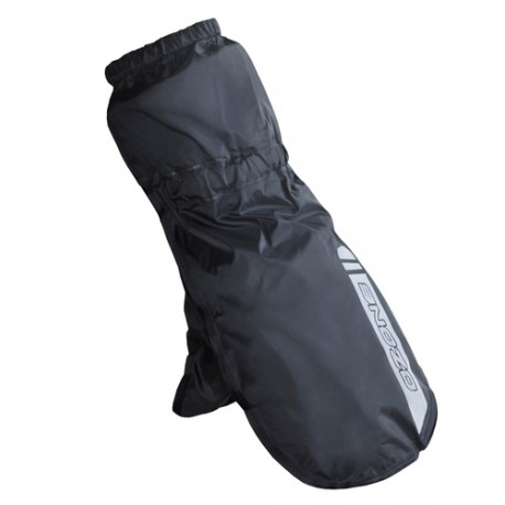 RAINCOVER GLOVES OZONE ALTO BLACK