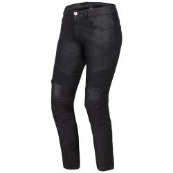 OZONE ROXY LADY WAXED JEANS PANTS BLACK