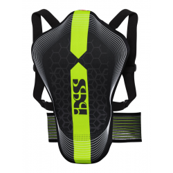 IXS RS-10 BACK PROTECTOR BLACK/GREEN