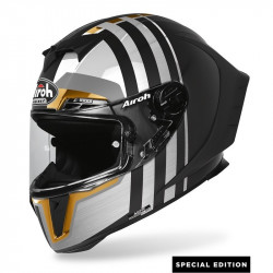 AIROH GP550 S SKYLINE HELMET LIMITED GOLD EDITION
