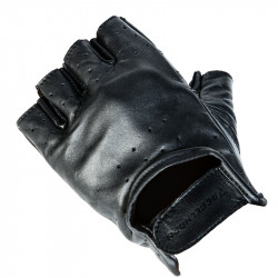LEATHER GLOVES REBELHORN RASCAL BLACK