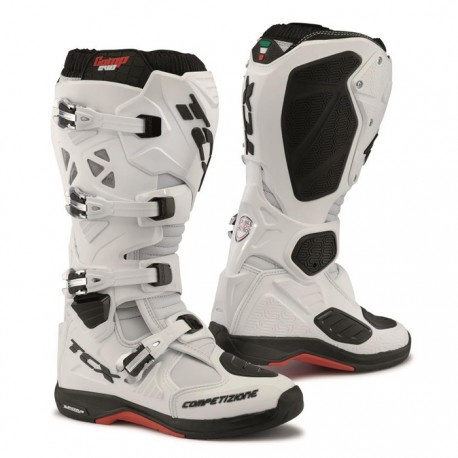 TCX COMP EVO MICHELIN WHITE BOOTS