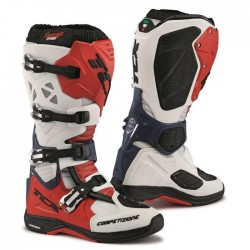 TCX COMP EVO MICHELIN WHITE/RED/BLUE BOOTS