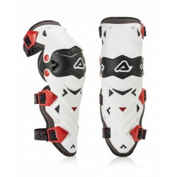 ACERBIS IMPACT EVO 3.0 KNEE GUARD WHITE
