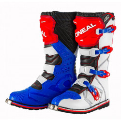O'neal RIDER BOOTS BLUE/RED/WHITE