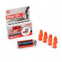 Zatyczki / Stopery do uszu Alpine Plug&Go 10 szt.