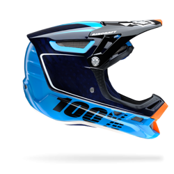 100% AIRCRAFT BI-TURBO HELMET BLUE