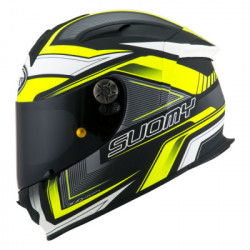SUOMY SR SPORT ENGINE BLACK YELLOW HELMET