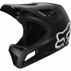 KASK ROWEROWY FOX JUNIOR RAMPAGE BLACK/BLACK