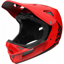 KASK ROWEROWY FOX RAMPAGE COMP INFIN BRIGHT RED