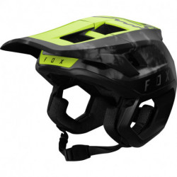 KASK ROWEROWY FOX DROPFRAME PRO DAY GLO YELLOW