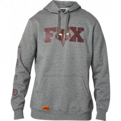 BLUZA FOX Z KAPTUREM ILLMATIK HEATHER GRAPHITE