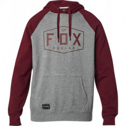 BLUZA FOX Z KAPTUREM CREST HEATHER GRAPHITE