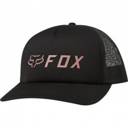 CZAPKA Z DASZKIEM FOX LADY APEX TRUCKER BLACK/PINK OS