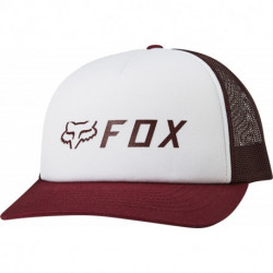 CZAPKA Z DASZKIEM FOX LADY APEX TRUCKER CRANBERRY OS