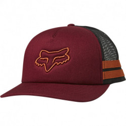 CZAPKA Z DASZKIEM FOX LADY BOUNDARY TRUCKER CRANBERRY OS