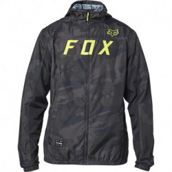 KURTKA FOX MOTH BLACK CAMO