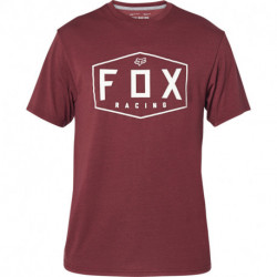 T-SHIRT FOX CREST TECH CRANBERRY