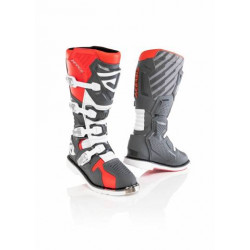 ACERBIS X-RACE BOOTS GREY RED