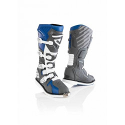 ACERBIS X-RACE BOOTS GREY BLUE