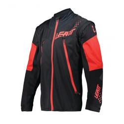 LEATT MOTO 4.5 LITE ENDURO JACKET BLACK/RED