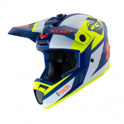 KASK KENNY TRACK NAVY NEON YELLOW 2021