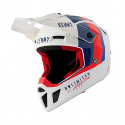 KASK KENNY PERFORMANCE WHITE BLUE RED 2021