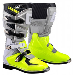 GAERNE GX-J JUNIOR BOOTS GREY/YELLOW FLUO
