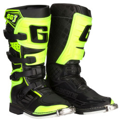 GAERNE SG-J JUNIOR BOOTS BLACK/YELLOW FLUO