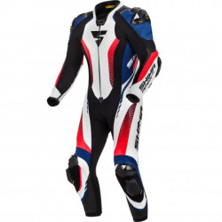 SHIMA APEX RS LEATHER SUIT WHITE/BLUE
