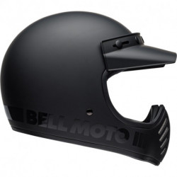KASK BELL MOTO-3 BLACKOUT MATT/GLOSS BLACK