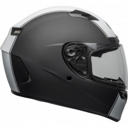KASK BELL QUALIFIER DLX MIPS RALLY MATTE BLACK/WHITE
